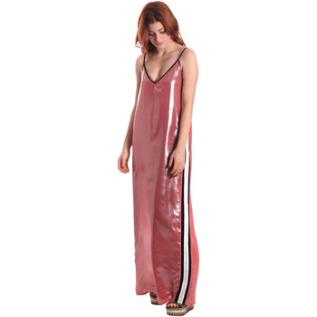 Ruhák Női Hosszú ruhák Fornarina SE178D61CA05E9 Rózsaszín