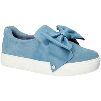 Cipők Női Belebújós cipők Fornarina PE17YM9608S018 Kék