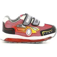 Cipők Fiú Rövid szárú edzőcipők Lumberjack SB02405 007 M67 Piros