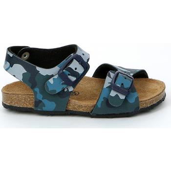 Cipők Gyerek Szandálok / Saruk Grunland SB0911 Kék