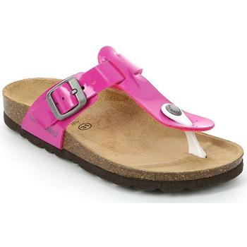 Cipők Gyerek Lábujjközös papucsok Grunland CB0928 Rózsaszín