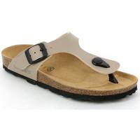 Cipők Gyerek Lábujjközös papucsok Grunland CB0926 Bézs