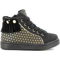 Cipők Gyerek Magas szárú edzőcipők Lumberjack SG20505-002 O29 Fekete