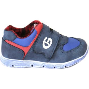 Cipők Fiú Rövid szárú edzőcipők Grunland PP0157 Kék