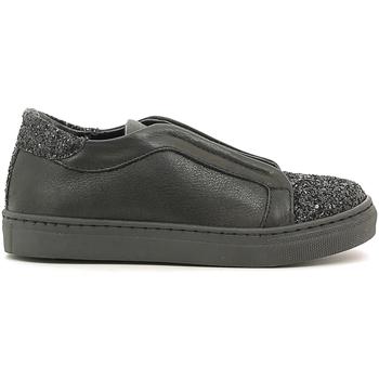 Cipők Lány Belebújós cipők Holalà HS050005L Fekete