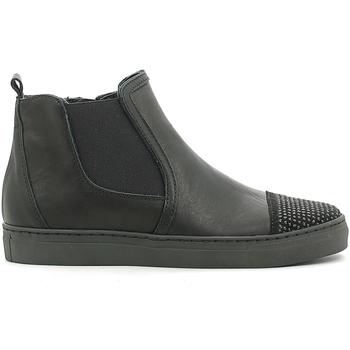 Cipők Gyerek Magas szárú edzőcipők Holalà HS050008L Fekete