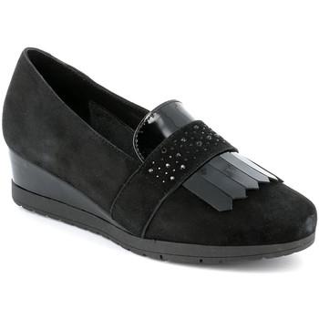 Cipők Női Mokkaszínek Grunland SC4786 Fekete