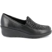 Cipők Női Mokkaszínek Grunland SC4778 Fekete