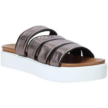 Cipők Női Papucsok Grunland CI1517 Szürke