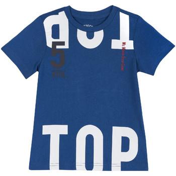 Ruhák Gyerek Rövid ujjú pólók Chicco 09006586000000 Kék