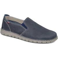 Cipők Férfi Belebújós cipők CallagHan 84701 Kék