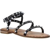 Cipők Női Szandálok / Saruk Steve Madden SMSTRAVEL-BLK Fekete