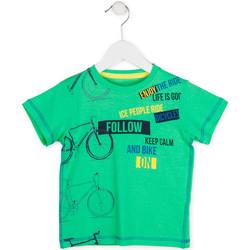 Ruhák Fiú Rövid ujjú pólók Losan 715 1014AC Zöld