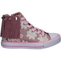 Cipők Lány Magas szárú edzőcipők Lulu LV010072S Rózsaszín