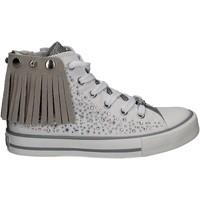 Cipők Lány Magas szárú edzőcipők Lulu LV010072S Fehér