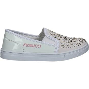 Cipők Lány Belebújós cipők Fiorucci FKEO044 Fehér