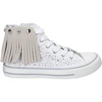 Cipők Lány Magas szárú edzőcipők Lulu LV010074T Fehér