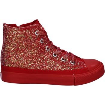 Cipők Lány Magas szárú edzőcipők Lulu LV010077S Piros