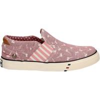 Cipők Lány Belebújós cipők Wrangler WG17121 Rózsaszín