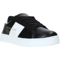 Cipők Gyerek Rövid szárú edzőcipők Fred Mello W19-SFK203 Fekete