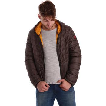 Ruhák Férfi Steppelt kabátok Gaudi 721BU35009 Barna