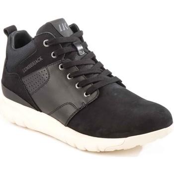 Cipők Férfi Magas szárú edzőcipők Lumberjack SM34505 002 M20 Fekete