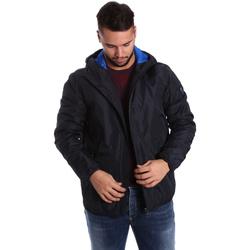 Ruhák Férfi Steppelt kabátok Ea7 Emporio Armani 6YPB34 PN02Z Kék