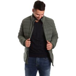 Ruhák Férfi Steppelt kabátok Ea7 Emporio Armani 6YPB23 PNB7Z Zöld