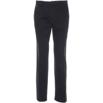Ruhák Férfi Chino nadrágok / Carrot nadrágok Nero Giardini A770010U Fekete