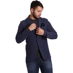 Ruhák Férfi Kabátok / Blézerek Sei3sei PZG9 7290 Kék