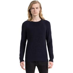Ruhák Férfi Pulóverek Calvin Klein Jeans J30J305473 Kék