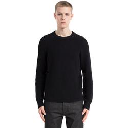 Ruhák Férfi Pulóverek Calvin Klein Jeans J30J305479 Fekete