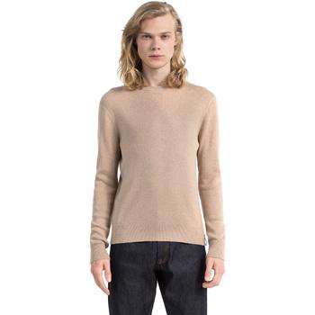 Ruhák Férfi Pulóverek Calvin Klein Jeans J30J305885 Bézs