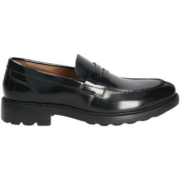 Cipők Férfi Mokkaszínek Maritan G 160582 Fekete