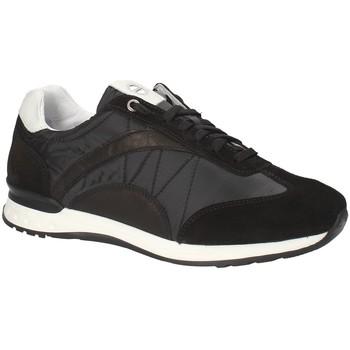 Cipők Férfi Rövid szárú edzőcipők Exton 661 Fekete