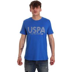 Ruhák Férfi Rövid ujjú pólók U.S Polo Assn. 57197 49351 Kék