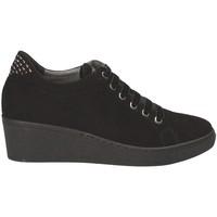 Cipők Női Rövid szárú edzőcipők Grunland SC3524 Fekete