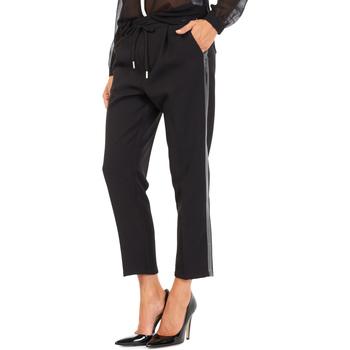 Ruhák Női Chino nadrágok / Carrot nadrágok Gas 365777 Fekete