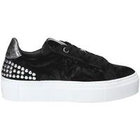 Cipők Női Rövid szárú edzőcipők Janet Sport 40912 Fekete