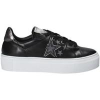 Cipők Női Rövid szárú edzőcipők Janet Sport 40914 Fekete