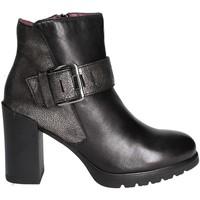 Cipők Női Bokacsizmák Stonefly 109414 Fekete