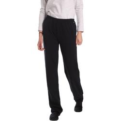Ruhák Női Lenge nadrágok Key Up 549F 0001 Fekete