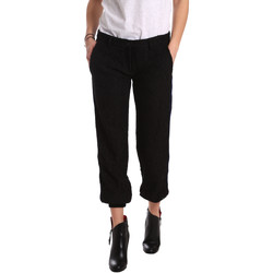 Ruhák Női Chino nadrágok / Carrot nadrágok Denny Rose 721DD20026 Fekete
