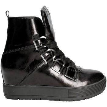 Cipők Női Magas szárú edzőcipők Fornarina PI18MJ1071I000 Fekete