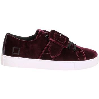 Cipők Női Rövid szárú edzőcipők Date W271-AB-VV-PU Ibolya