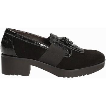 Cipők Női Mokkaszínek Susimoda 875084 Fekete