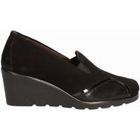 Cipők Női Mokkaszínek Susimoda 872877 Fekete