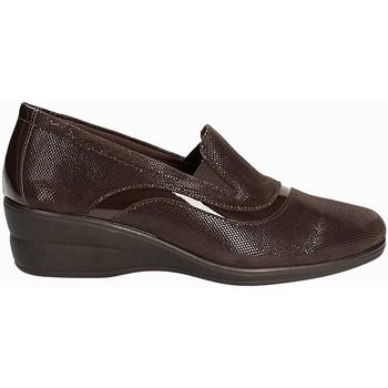 Cipők Női Mokkaszínek Susimoda 871516 Barna