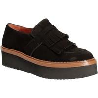 Cipők Női Mokkaszínek Triver Flight 217-04 Fekete