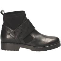 Cipők Női Bokacsizmák Mally 5887D Fekete